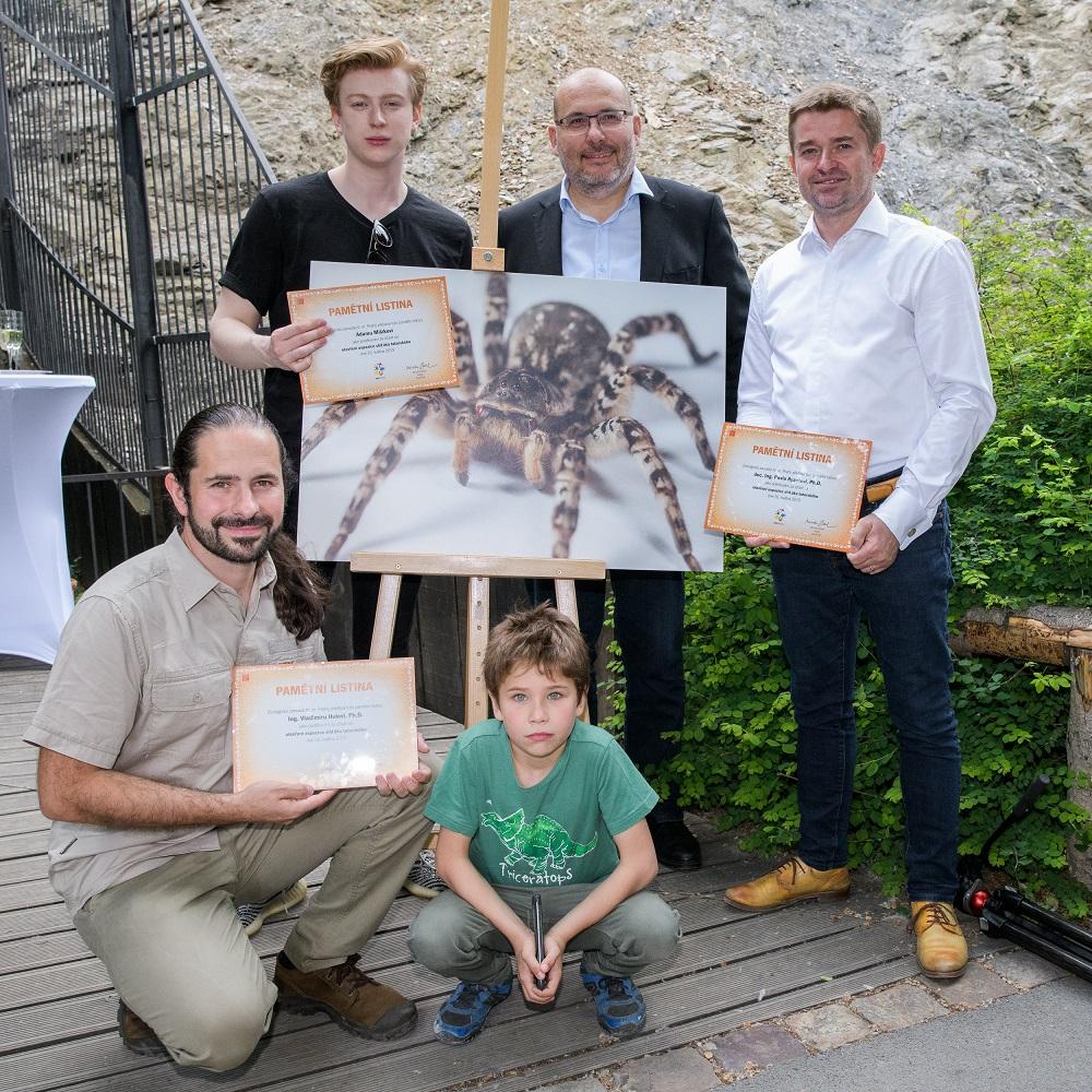 ZOO Praha vystavila největšího pavouka Evropy