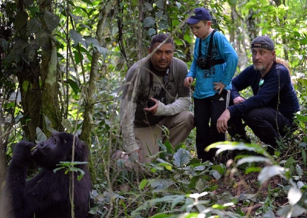 Nový cestovatelský dokument Go za Gorilou