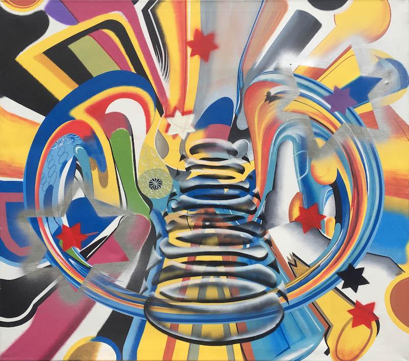 Čtyřdenní pop-up výstavu Intermezzo představující díla Kryštofa Kintery