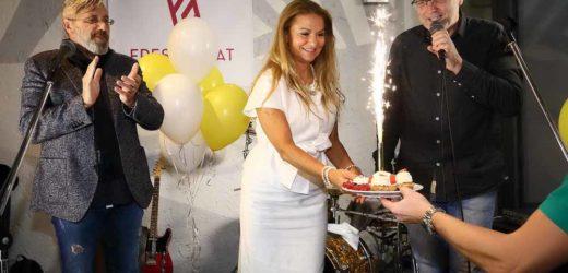 Yvetta Blanarovičová oslavila své narozeniny na Nemoros party