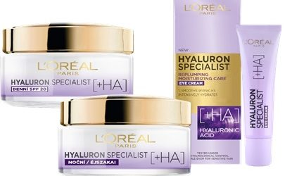 L'ORÉAL PARIS: Hyaluron Specialist – nová řada hloubkově vyplňující péče