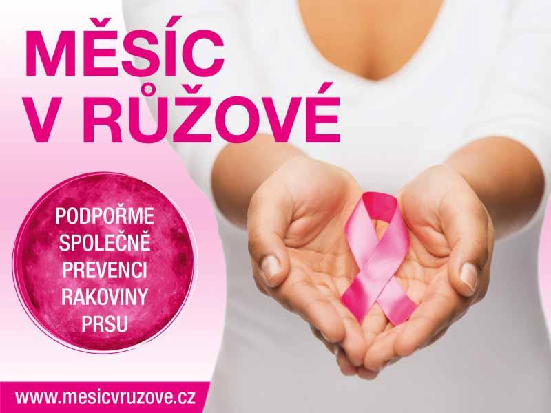Zapojte se do kampaně na podporu žen s rakovinou prsu